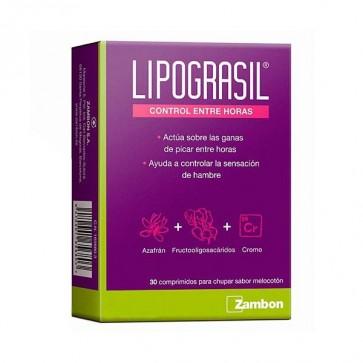 Lipograsil Control Entre Horas 30 Comprimidos - Controla la Sensación de Hambre Entre Horas