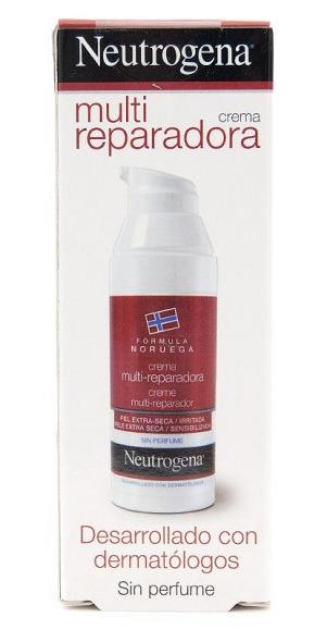 Neutrogena Crema Multi Reparadora 50 ml - Piel Seca e Irritada