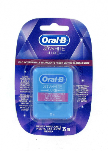Oral-B 3D White Seda Dental Blanqueante 35 m