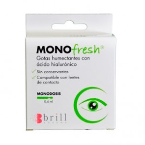 Monofresh Gotas Humectantes 30 x 0,4 ml