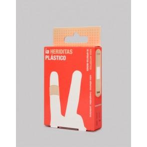 Apósitos de Plástico 20 Unidades Heriditas de Interapothek - Tiritas Extra-Adhesivas