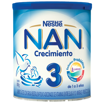 Nestlé Nan Expert 3 800 gr - Leche Crecimiento