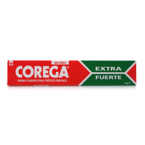 Corega Ultra Crema Extra Fuerte 75 gr - Prótesis Dental, Fijador Dental