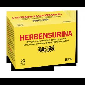 Deiters Herbensurina 20 Sobres-Filtro - Complemento Alimenticio para Infusión