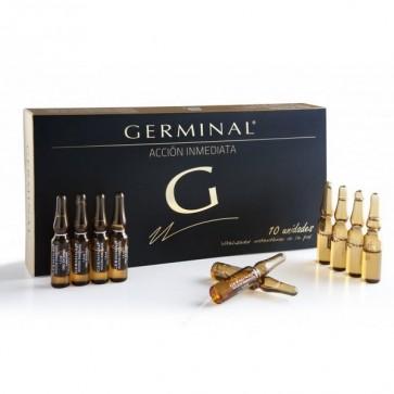 Germinal Acción Inmediata 10 Ampollas - Piel Suave, Flexible y Tersa de manera Inmediata