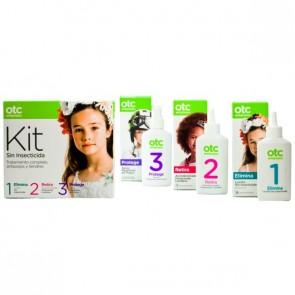 Otc Kit 1 2 3 Sin Insecticida Antipiojos