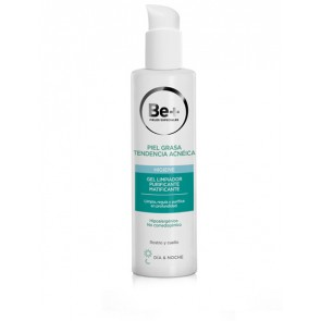 Be+ Gel Limpiador Purificante Matificante 200ml - Piel Grasa con Tendencia Acnéica
