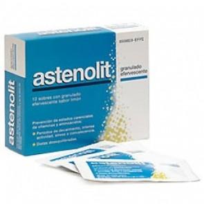 Astenolit Sobres Bebibles 12 Udes 10 ml - Complemento Alimenticio a Base de Minerales y Vitaminas