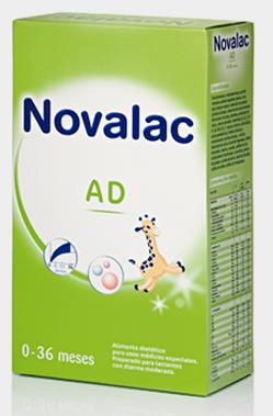 Novalac AD 250 gr - leche, lactantes, diarrea