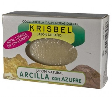 Krisbel Jabón Arcilla Y Azufre 125 Gr