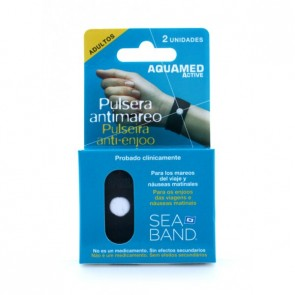 Aquamed Ac Pulsera Antimareo Adulto 2 Unidades