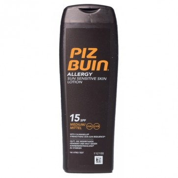 Piz Buin Allergy Fps 15 Protección Media 200ml – Loción Protectora solar