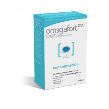 Omegafort Concentración 690 Mg 30 Cápsulas - omega 3, vitaminas