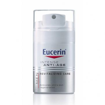 Eucerin Men Crema Anti-Edad Cuidado Revitalizante 50 ml - Hidratación 24h