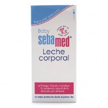 Sebamed Baby Leche Corporal Dosificador 400 ml -Leche corporal para bebés y niños