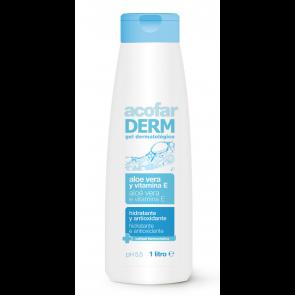 Acofar GEL dermatológico aloe vera + vitamina E 1 L - piel, hidratación
