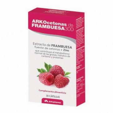 ArkoCetonas de frambuesa 300 mg 30 cáps. - control de peso