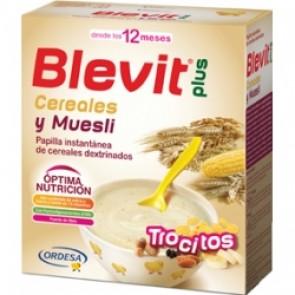 Blevit Plus Trocitos Cereales y Muesli 600 gr - Primeros Cereales para Masticar