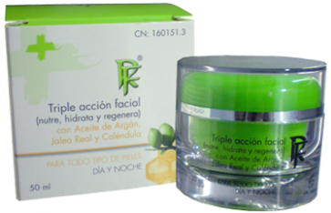 Rueda Farma Triple Acción Facial 50 ml - Crema Antiarrugas