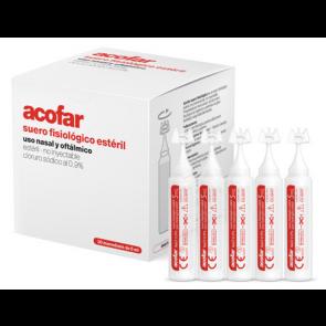 Acofar Suero Fisiológico Estéril 30 unidades de 5 ml - Nariz, Ojos