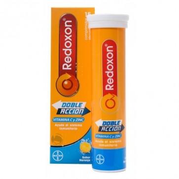 Redoxon Doble Acción Naranja 15 Comp Eferv. - Sistema Inmunitario, Defensas
