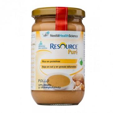 Resource Puré de Pollo con Pasta y Champiñones 300 gr