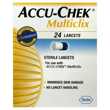 Accu Chek Multiclix Lancetas 24 Unidades