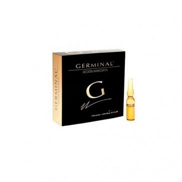 Germinal Acción Inmediata 1 Ampolla - Ilumina el Rostro - Reduce los Signos de Fatiga