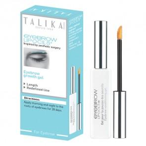 Talika Eyebrow Lipocils Gel Cejas 10 ML - Estimula el Crecimiento Natural, Cejas Más Densas y Definidas