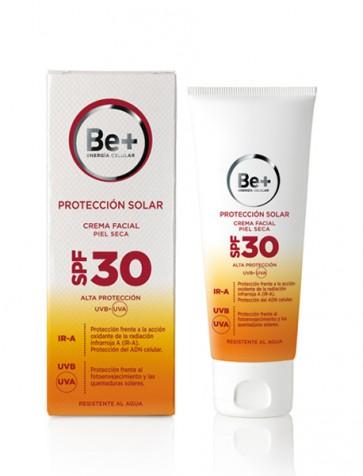 Be+ Protección Solar Crema Facial SPF30 Piel Seca 50 ml
