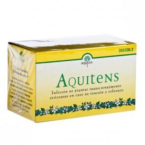 Aquilea AQUITENS Infusiones 20 Sobres - olivo, espino blanco, frángula, grosellero, pasiflora, fresno, limón, fumaria, valeriana