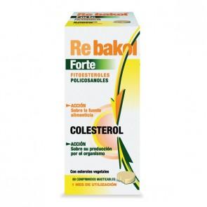 Rebakol forte 60 comp. masticables - cuidar el colesterol