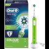 Oral-B Braun Pro 600 Cross Action Cepillo Eléctrico Verde - Limpieza Profunda