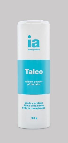 Talco 100 gr de Interapothek - Cuida y Protege - Alivio de Irritaciones Cutáneas