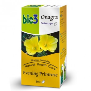 Bie3 Onagra Naturcaps 80 cápsulas - SOP, SPM y Omega 6