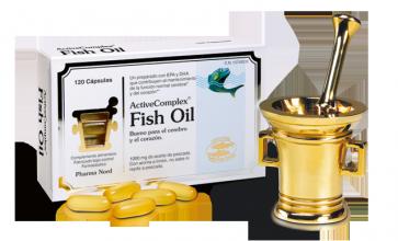 ActiveComplex Fish Oil 120 Capsulas - Mejora el buen estado del corazón, cerebro y vista