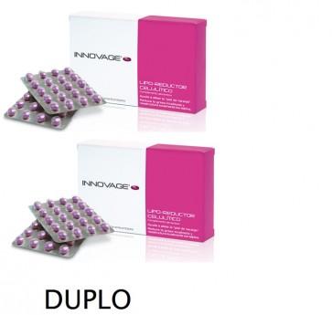 Innovage Lipo-reductor Anticelulítico Duplo 60 Comprimidos - Piel de Naranja, Grasa Localizada