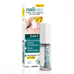 Nailner 2 En 1 Pincel Antihongos 4 ml