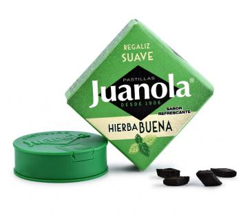 Juanola Pastillas de Hierbabuena Cajita 5,4 gr - Garganta