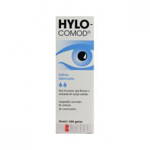 Hylo Comod 10ml Colirio - Alivia Sequedad Ojos, Sensación de Cuerpo Extraño