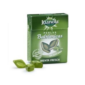 Juanola Perlas Balsámicas Menta Fresca Sin Azúcar 25 gr
