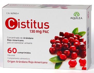 Cistitus 60 Comprimidos - Arándano Rojo Americano, Remedio para la Cistitis