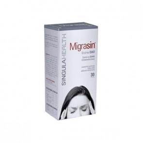 Migrasin 30 Cápsulas - Tratamiento Dietético del Déficit de la Enzima DiAminoOxidasa (DAO), Migraña