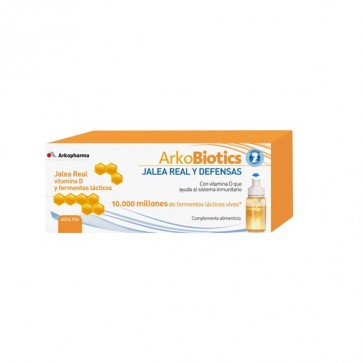 ArkoBiotics Jalea Real y Defensas Adultos 7 dosis - Sistema Inmunitario