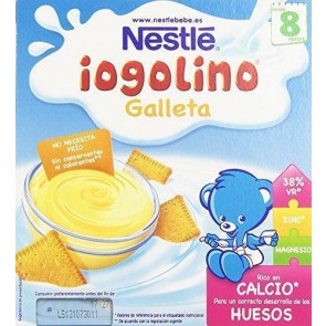 Nestlé Postre Lácteo Galleta 4 x 100 Gr