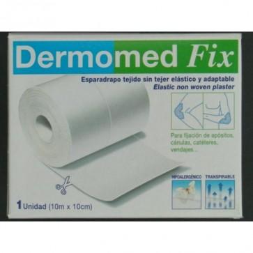 Esparadrapo Dermomed Fix 10 m x 10 cm - Hipoalergénico Transpirable