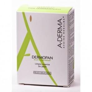 A-Derma Dermopan Pastilla 100gr - Avena Rhealba, Pieles Delicadas, Sin Jabón