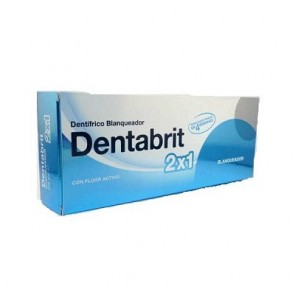 Pasta Dental Dentabrit Blanqueador 125 ml