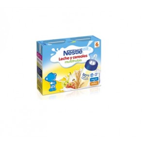 Nestlé Papilla Líquida Multifrutas 2x250 Ml