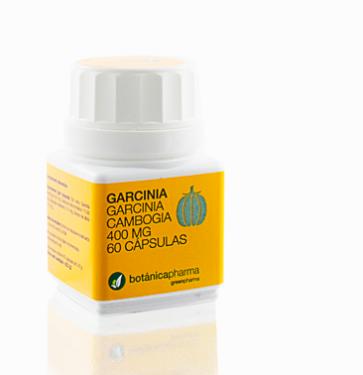 Garcinia Cambogia 400m 60 Capsulas BotanicaPharma - Inhibición Lipogenesis(Formación de Grasas), Estimulante Glucogénesis, Saciante